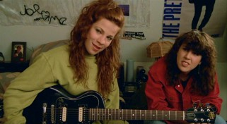"With their love discussions and swooning, Corey (Lili Taylor) and D.C. (Amy Brooks) are onscreen most of the times when ""Say Anything..."" gets mushy."