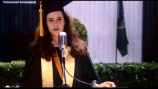 Diane's valedictory speech is one of thirteen scenes extended in the bonus features section.