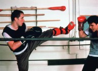 John Cusack demonstrates his wicked kickfighting skills in the photo gallery.