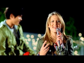 "Emily Osment, Hannah Montana's pal and Haley Joel's little sister, attempts to prove she rocks in the music video for her ""Once Upon a Dream"" cover."