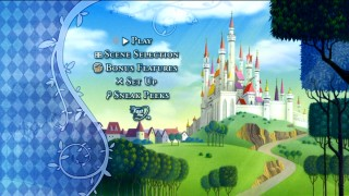 Some birds flying by is the liveliest Disc 1's serene main menu gets.