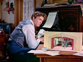 "Grant Williams portrays Peter Tchaikovsky as a man in the included Disneyland episode, which aired after ""The Incredible Shrinking Man"" and before Williams started his 3-season run on ""Hawaiian Eye."""