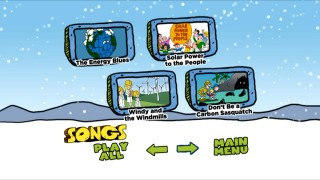 The song selection menu not only gives you the chance to jump to a specific number, it also replaces the polar bear intros with a simple title card.