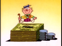Schoolhouse Rock departs from reality with Tax Man Max, someone far too upbeat about paying taxes.