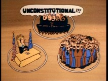 If you've ever thought of the United States government as a three-ring circus, you'll appreciate the visuals of this short.