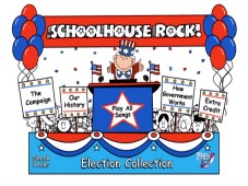 The disc's simple main menu stays true to the Schoolhouse Rock style and makes one long for childhood conceptions of elections.