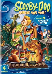 Scooby-Doo, Where Are You! Volume 4: Spooked Bayou DVD cover art -- click to buy DVD from Amazon.com