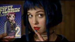 Mary Elizabeth Winstead strikes a classic Ramona pose in this hair and make-up test.