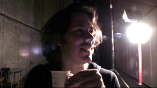 Director Edgar Wright takes a break from filming to record a video blog about the production process.