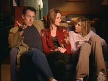 "Ladies man Johnny C. is joined by Christa Miller and Sarah Chalke in the ""Favorite Moments"" bonus feature."