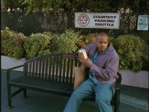 "Turk secures his favorite lunchtime spot in ""My Nickname."""
