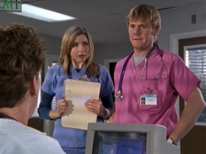 Rick Schroder is one of Season 2's many noteworthy guests. His stint as Nurse Paul Flowers, Elliot's love interest, is longer than most.