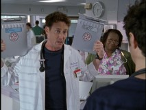 "In ""My Lucky Day"", Dr. Cox splits up two identical patients à la ""The Parent Trap."""