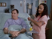 "Richard Kind (""Spin City"", ""A Bug's Life"") guest stars as a patient who really seems to want to be sick in ""My New Old Friend."""