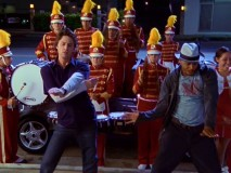 In the second episode, Carla goes into labor. No need to worry; J.D. and Turk are fully prepared, at least when it comes to celebratory marching bands.
