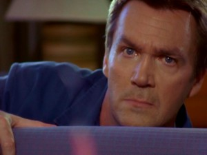 The Janitor (Neil Flynn) awakens from his workday nap to see a most unusual hair plucking. Or does he?