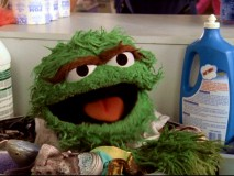 "Oscar the Grouch turns up in the Janitor's cart as one of five Sesame Street Muppets appearing in J.D.'s ""My ABC's"" fantasies."