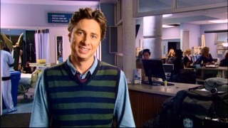 "Zach Braff gives his blessing to the Muppet Babies version of Scrubs in the featurette ""Scrubbing In."" As an executive producer, he kind of has to."