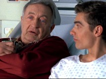 Stripped of his driving privileges, Dr. Kelso (Ken Jenkins) is the only one there for Cole (Dave Franco) on the day of his skin cancer surgery.
