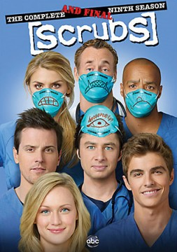 Scrubs: The Complete and Final Ninth Season DVD cover art - buy from Amazon.com