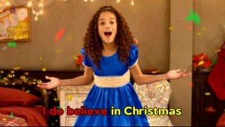 "You won't need Bing Crosby and John Denver anymore, now that you've got the original songs of ""The Search for Santa Paws"", complete with sing-along mode lyrics! No wonder tough orphan Will (Madison Pettis) is so happy."