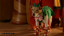 No animals were harmed in the making of the film, but thanks to elf costumes and facial motion sensors, some sure were embarrassed.