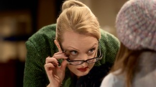 Hair-pulling, toy-snatching Ms. Stout (Wendi McLendon-Covey) is likely the world's worst foster parent.
