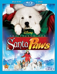 The Search for Santa Paws cover art -- click to buy Blu-ray + DVD Combo Pack from Amazon.com
