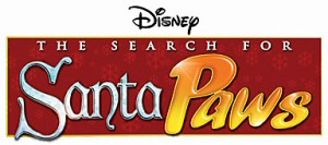 Disney's The Search for Santa Paws title logo