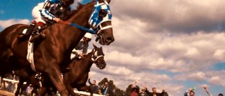 We get an up close and personal look at Secretariat's race track heroics.