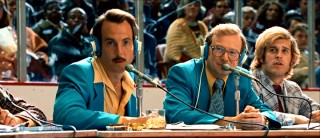 Will Arnett and Andrew Daly provide some amusement with their running (off-)color commentary of the Tropics' play.