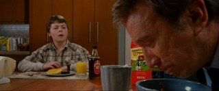 Josh (Spencer Breslin) is surprised by the way Dad's eating his Special K today.