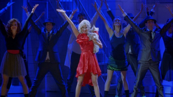 Not a spoiler: a movie about Sharpay Evans (Ashley Tisdale) can only end with her getting theatrical.