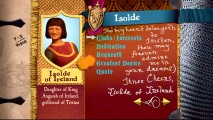 Isolde of Ireland is one of thirty supporting characters given attention in the interactive Worcestershire Academy Yearbook.