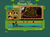 """Shrek Shmash Ups"" lets you juggle four elements as you wish in piecing together a silly Shrek the Third sequence."