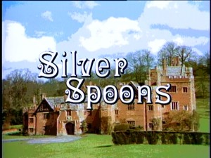 "The title screen for ""Silver Spoons"" shows off the exterior of this '80s sitcom's primary location: Edward Stratton's home, a castle in Long Island."