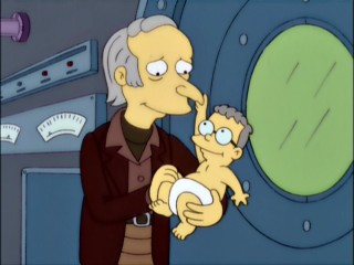 Smithers is just a baby and Mr. Burns is less ancient in this nimble, well-preserved 1970s security footage that solves a long-puzzling Springfield mystery from Homer's youth.