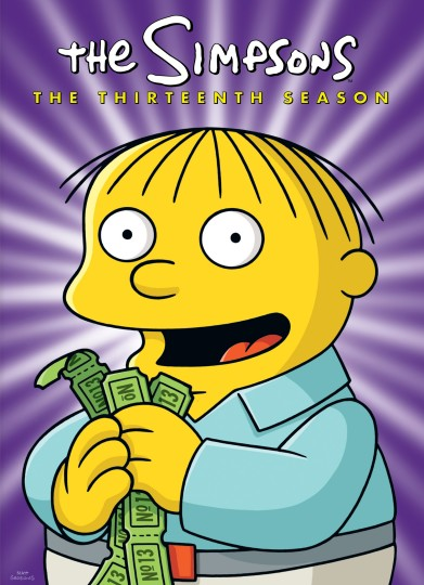 The Simpsons: The Complete Thirteenth Season's Ralph Wiggum DVD cover art - buy DVD from Amazon.com