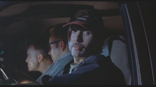 In a scene exlusive to the original director's cut, Doyle gets permission to drive drunk from his buddy cops.
