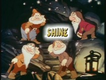 The Dwarfs listen for their not-really-echoing-echoes as the lyric acts as an example of what it says in this sing-along.