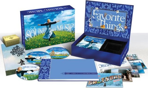 The Sound of Music: 45th Anniversary Limited Edition Collector's Set artwork and contents