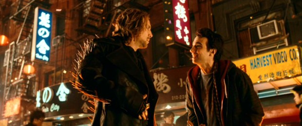 In Chinatown to retrieve the Grimhold, Dave Stutler (Jay Baruchel) discovers the thrills of being apprentice sorcerer to Balthazar Blake (Nicolas Cage).