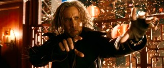 Nic Cage gets it done as masterful ancient sorcerer Balthazar.