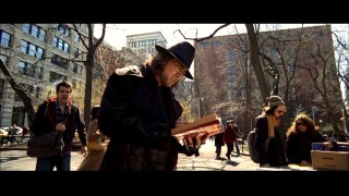 Dave catches Balthazar paging through the books of a Washington Square Park vendor in the DVD's one and only deleted scene.