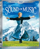 The Sound of Music: 45th Anniversary Edition Blu-ray + DVD cover art -- click to buy combo from Amazon.com
