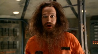 "Poor Diedrich Bader has been reduced to playing the wacky, bearded Russian cosmonaut Yuri. This one must be for his kids, but how does he explain ""Meet the Spartans""?!"