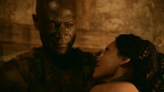 "Doctore (Peter Mensah) pursues the truth regarding Barca's ""freeing"", cornering Naevia (Lesley-Ann Brandt) for answers."