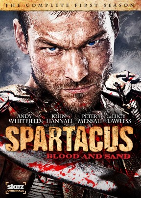 Spartacus: Blood and Sand - The Complete First Season DVD cover art - click to buy from Amazon.com