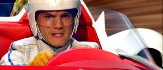 Emile Hirsch plays Speed Racer, a young man whose name strongly suggests his occupation.