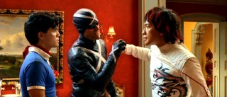 Speed, the mysterious Racer X (Matthew Fox), and Taejo (Rain) are a team, but that doesn't mean things won't get hostile.